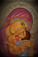 Icon Virgin Mary in Prayer