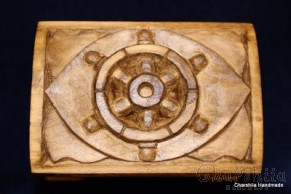 Jewelry box of woodcarving ''Sea''