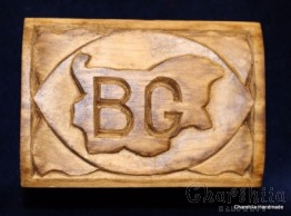 Jewelry box of woodcarving ''Bulgaria''
