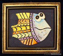 "Painting ''Ceramic fish"" 1"