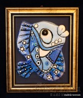 "Painting ''Ceramic fish"" 3"