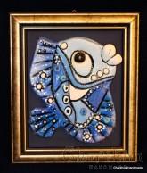 """Painting ''Ceramic fish"""" 3"""