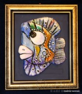 "Painting ''Ceramic fish"" 2"