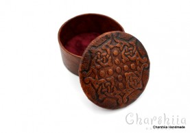 Jewelry Box, handmade, genuine leather
