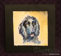 Painting ''Aquarelle - Dog'' 2