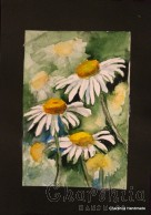 Painting ''Aquarelle -  Flowers'' 3