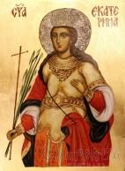 Icon image of St. Catherine