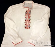 Men's kenar shirt with Bulgarian embroidery