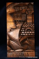 "Woodcarving ""Sea Bulgaria"""