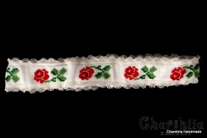 Child headband with Bulgarian embroidery