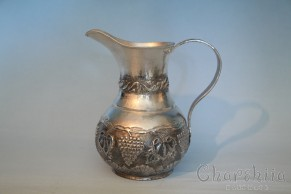 Copper releif cup silver coated