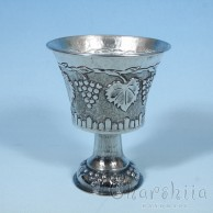 Silver cup with ornaments 3