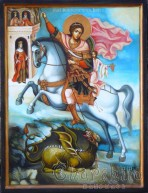 Icon of Saint George Martyr