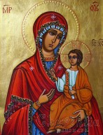 Icon image of Madonna and Child