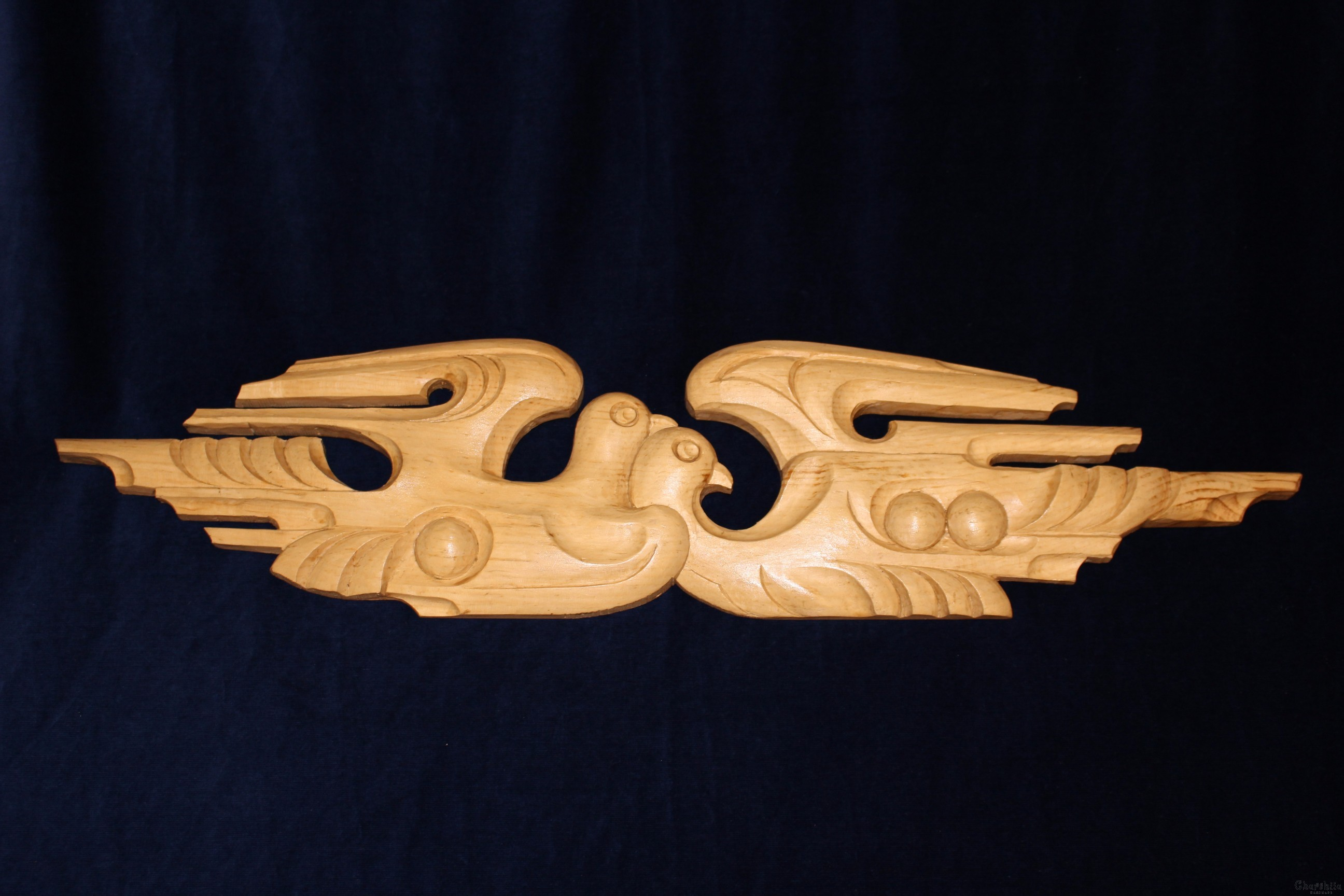 "Woodcarving ""Birds"""