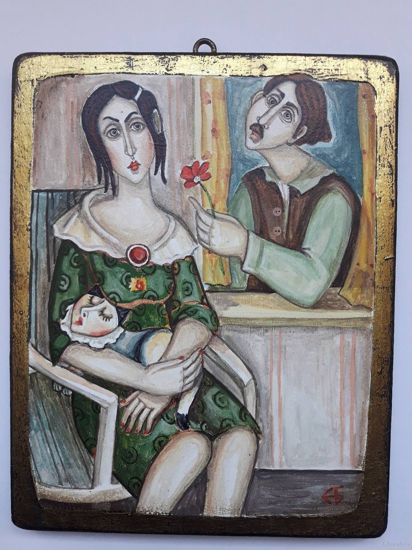 """Painting """"Love gift"""""""