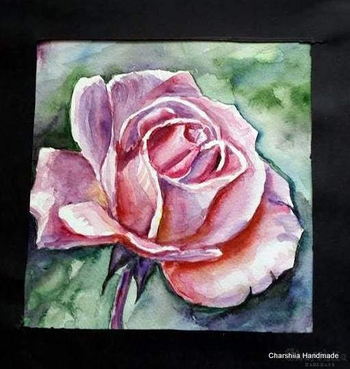 Painting ''Aquarelle - Flowers'' 1