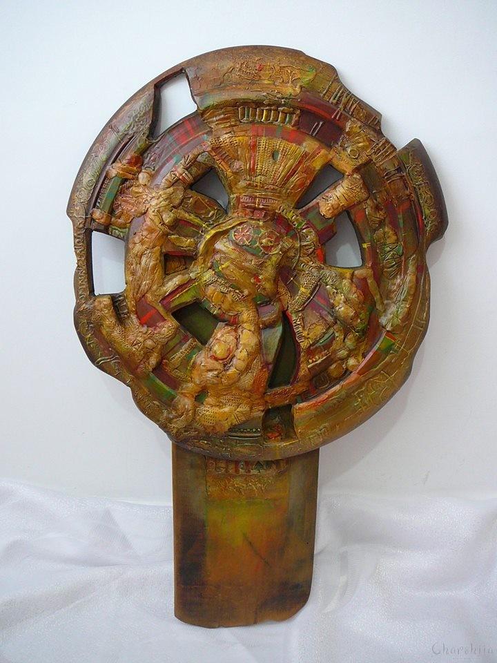 "Disc ""Wheel of life"""