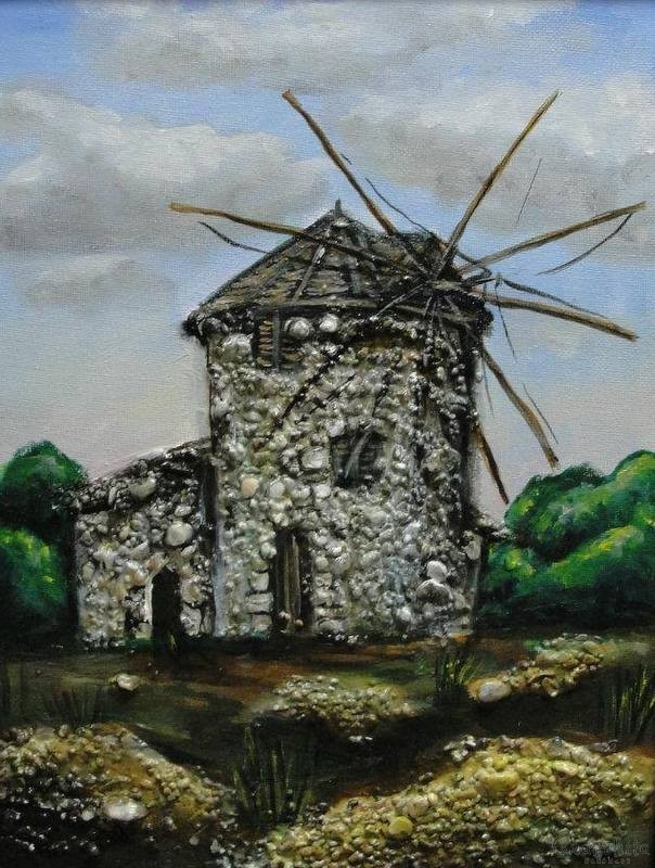 painting ''Windmill''