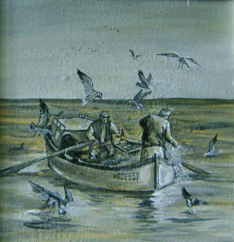 painting ''Fishing''