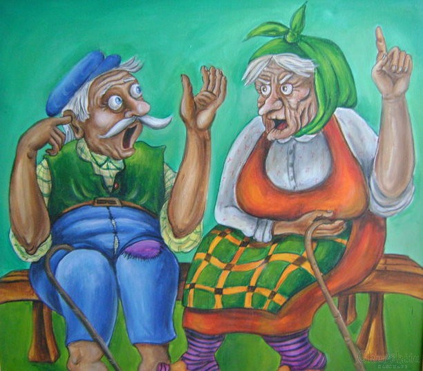 painting ''Family monologue''
