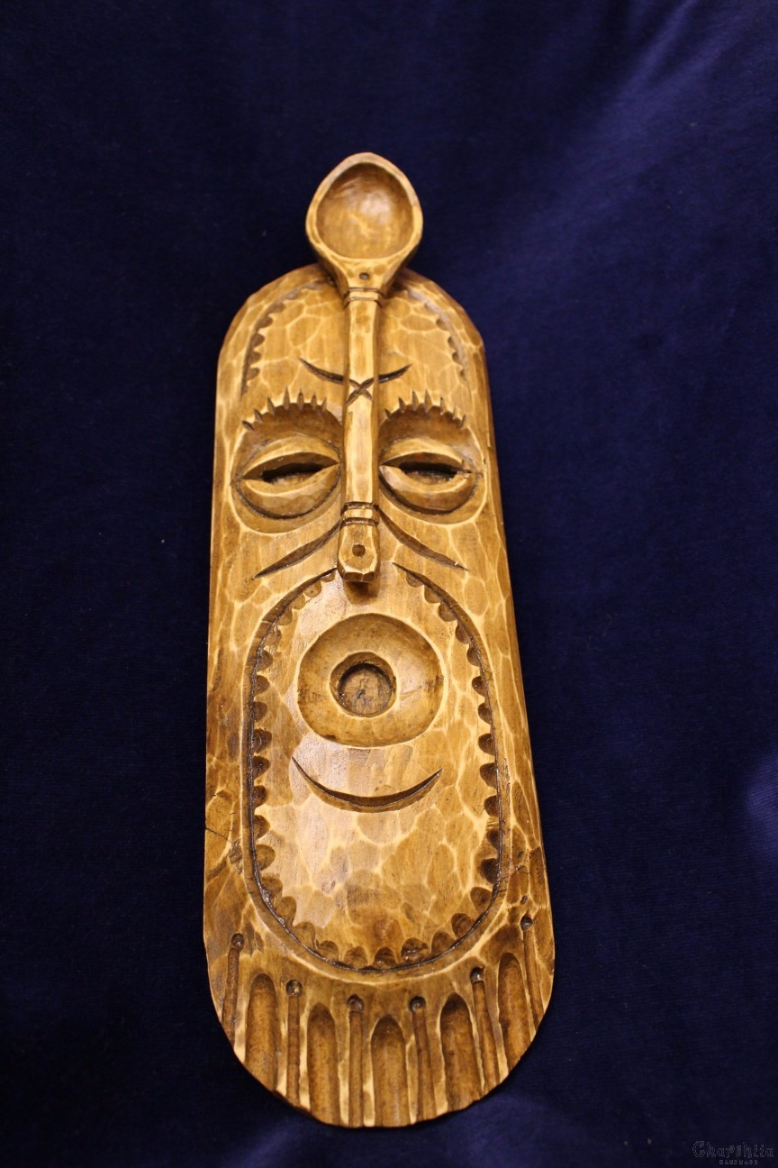"Woodcarving ""Mask"" 5"