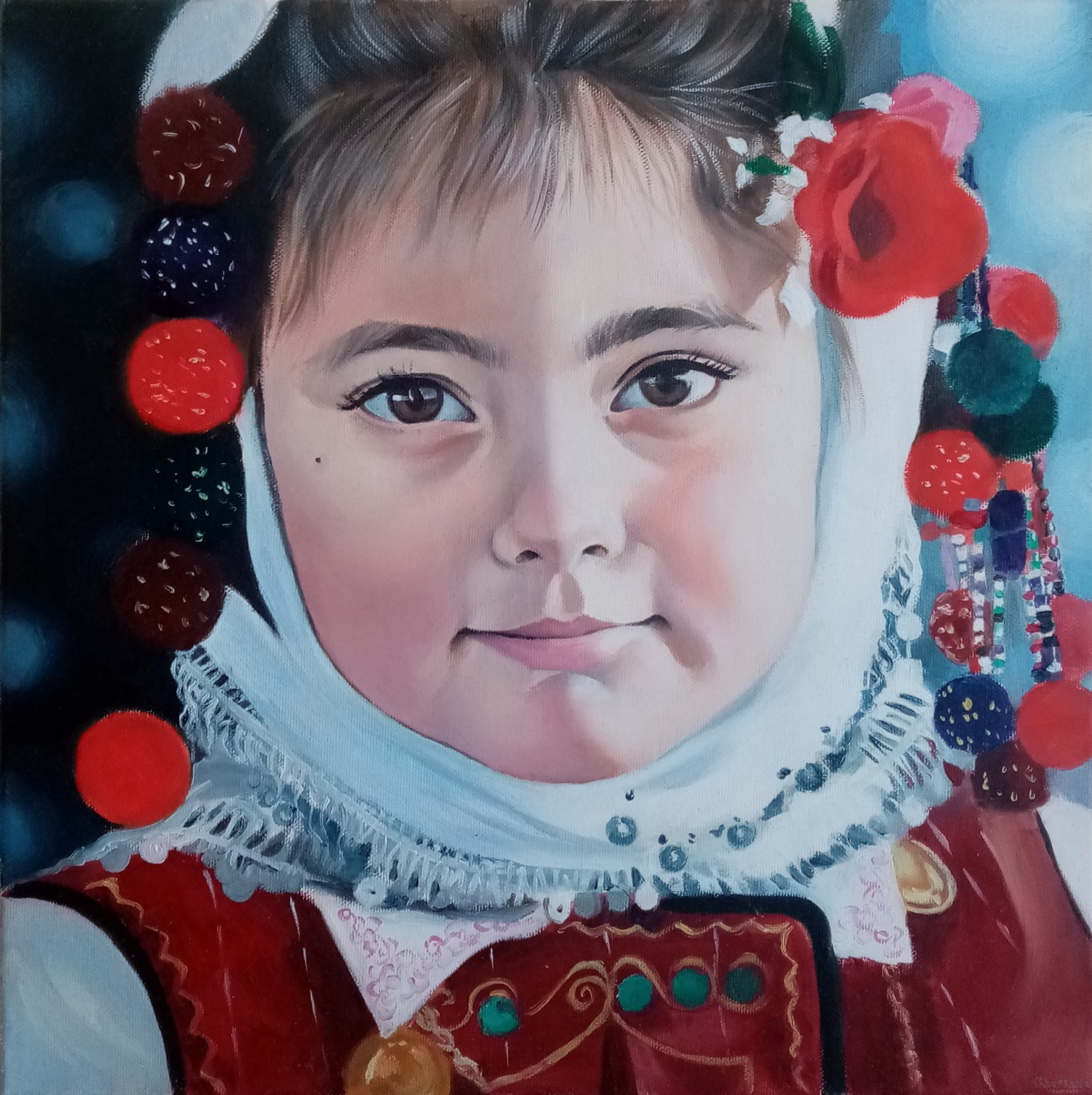 Painting ''Children's expectation''