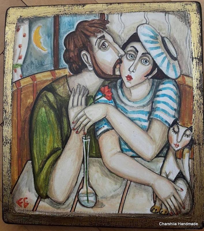 Painting ''Shushu-mushu''