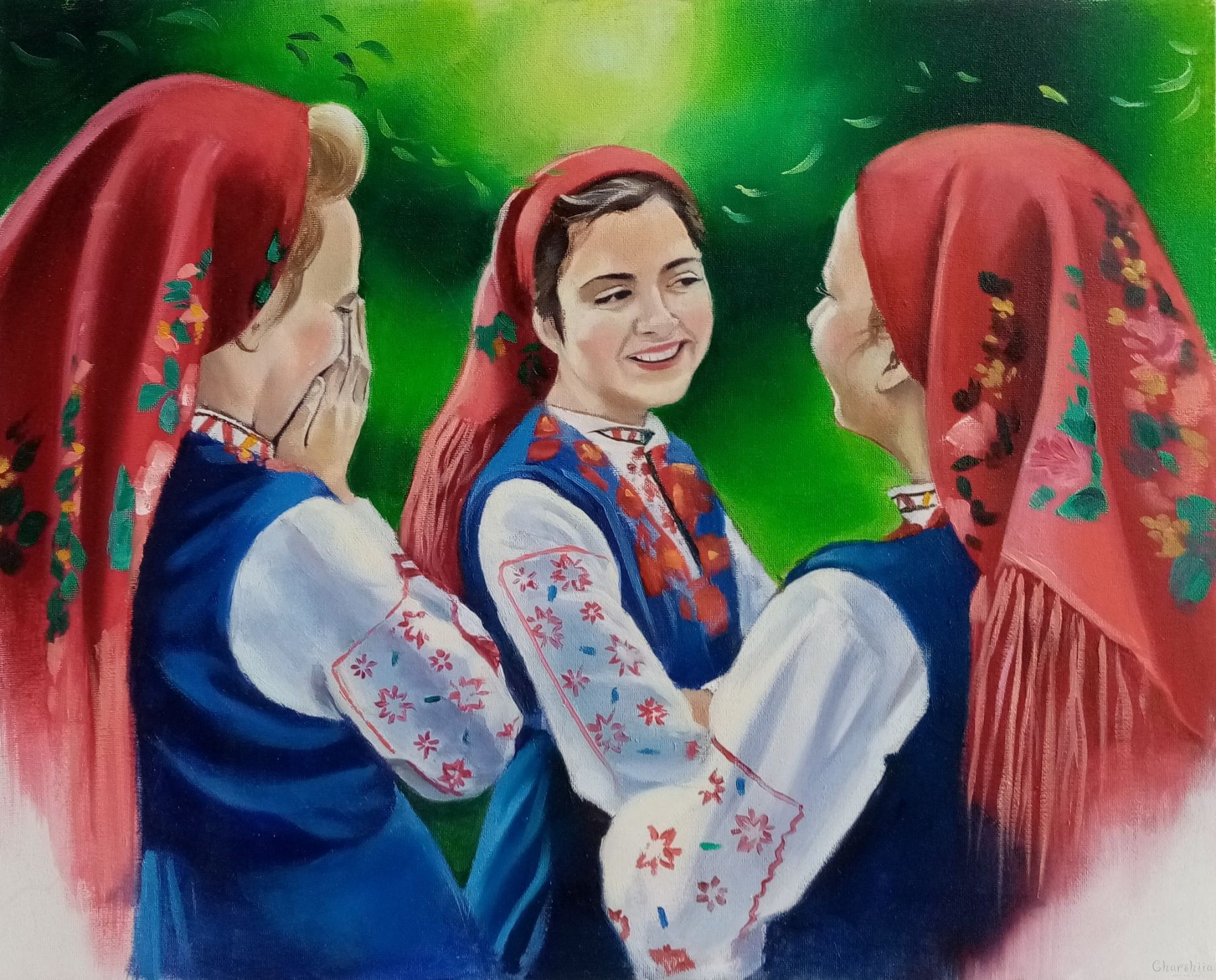 Painting ''Festival''