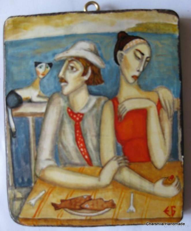 "Painting ""Summer vacation 1''"