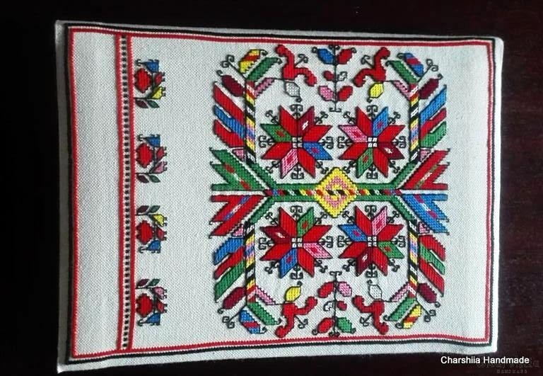 Photoalbum with Bulgarian embroidery