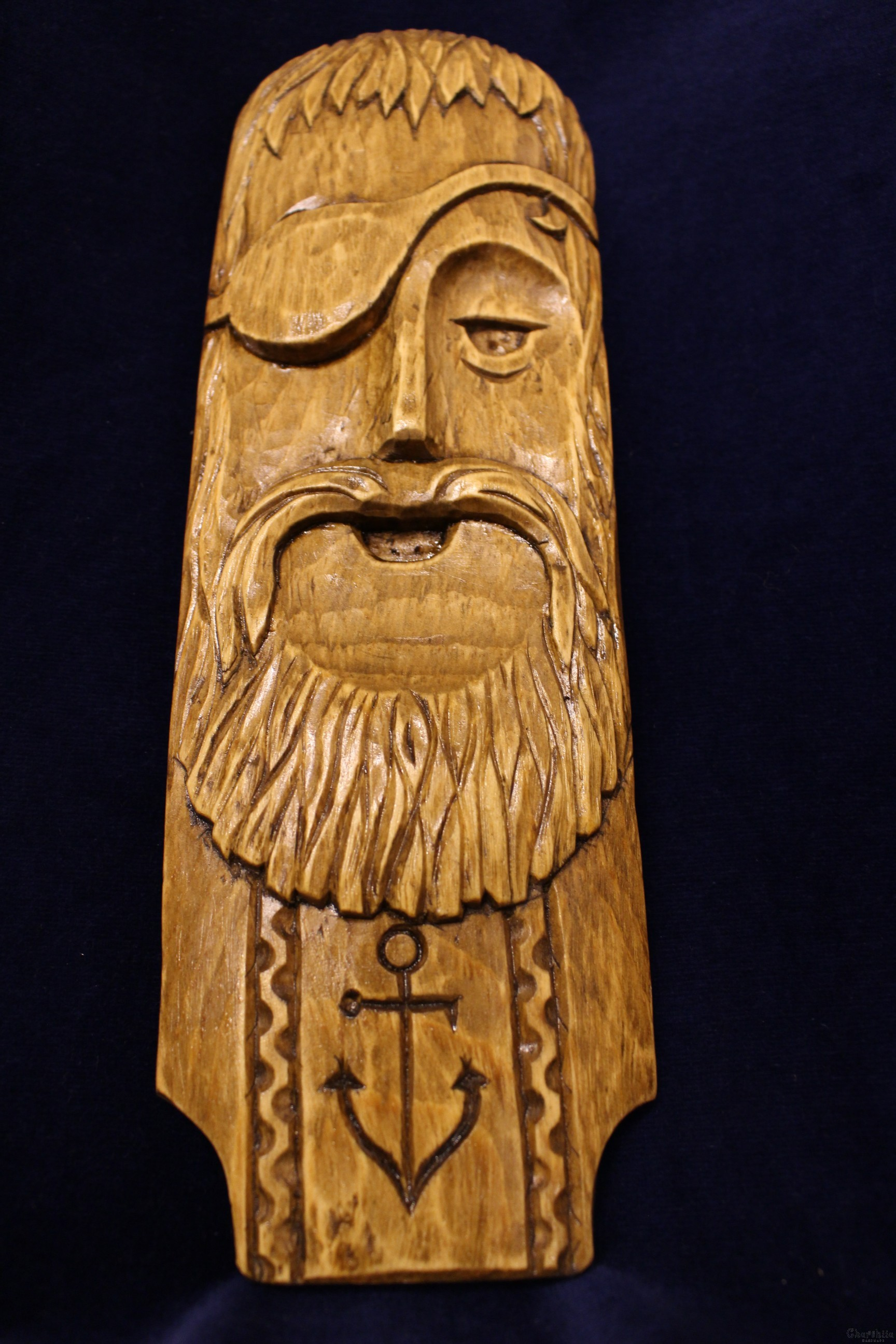 "woodcarving ""Pirate"""