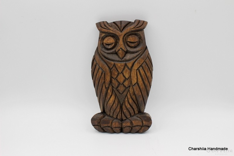 Woodcarving - Owl