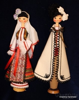 Traditional Bulgarian doll