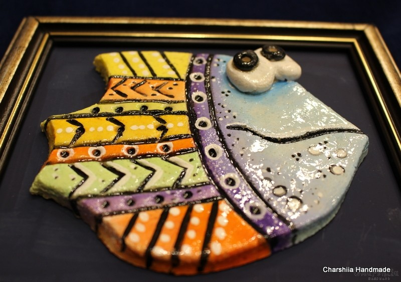 Painting ''Ceramic fish""