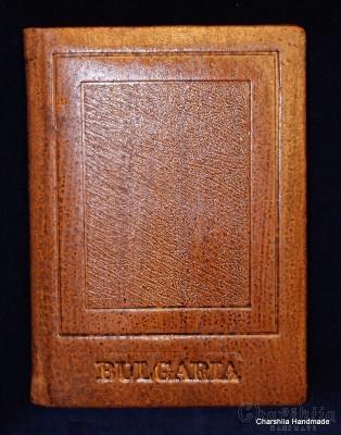Notebook, handmade, genuine leather
