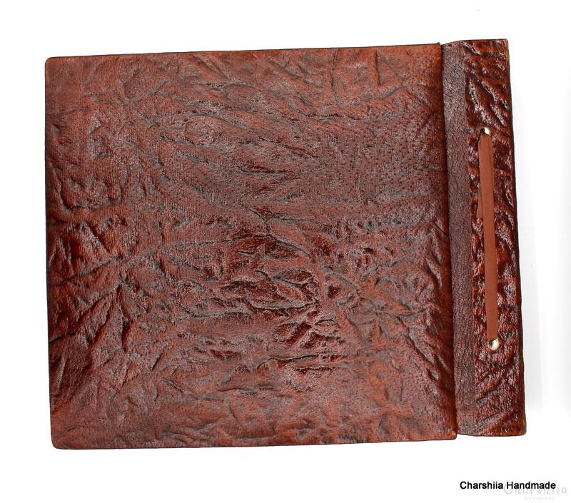 Photoalbum, handmade, genuine leather