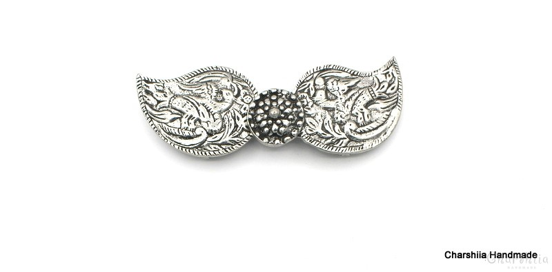 Children's metal belt buckle