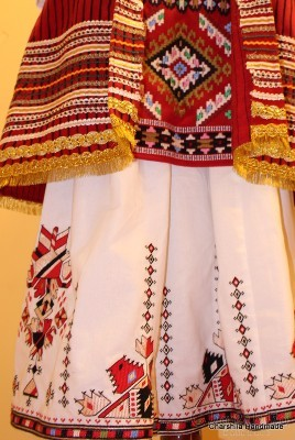 Bulgarian folk costume - Debar women's folk costume