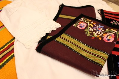Bulgarian folk costume - Northern women's folk costume