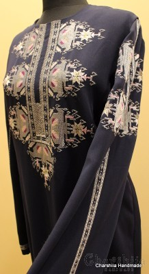 Ladies dress with Bulgarian embroidery