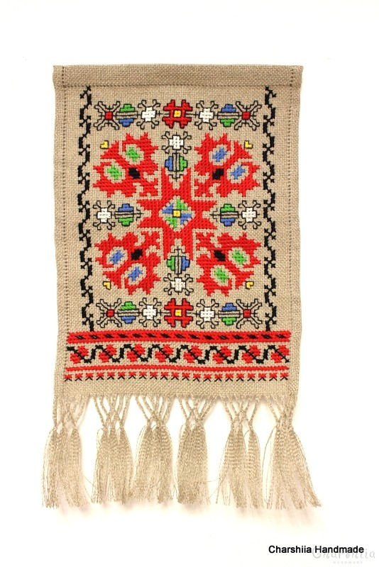 Panel with Bulgarian embroidery