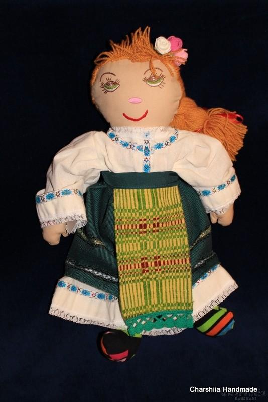 Traditional Bulgarian doll