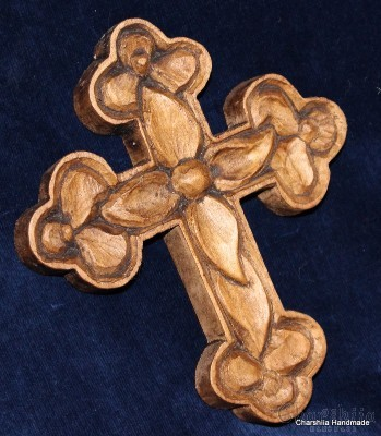 "Woodcarving ""Christian cross"" 2"