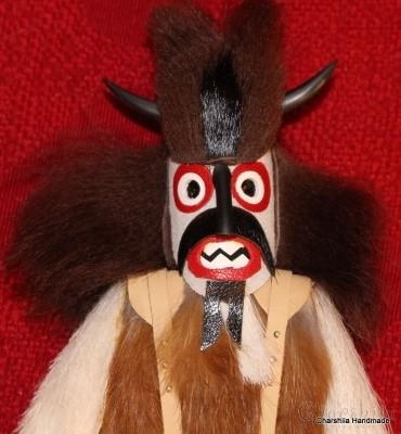 Bulgarian ritual mask ''Kuker''