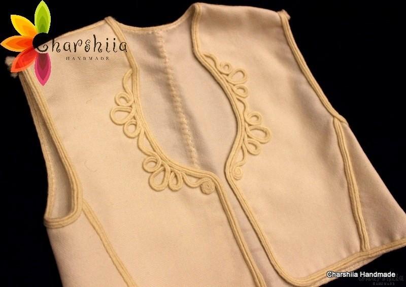 Children's vest for Bulgarian national costume