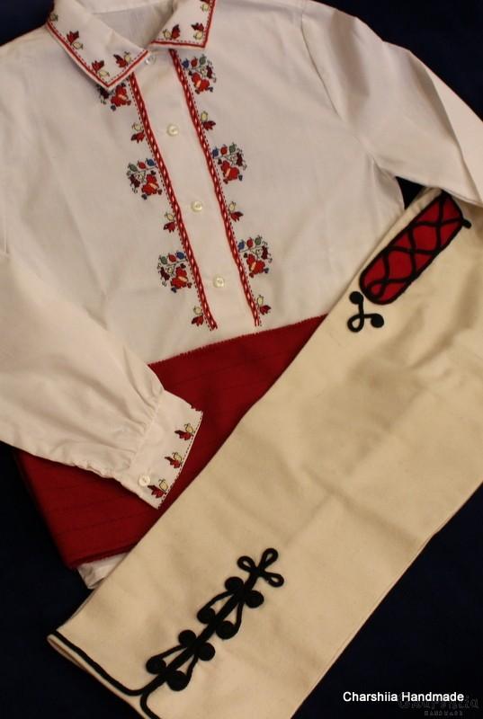 Bulgarian folk costume for boys