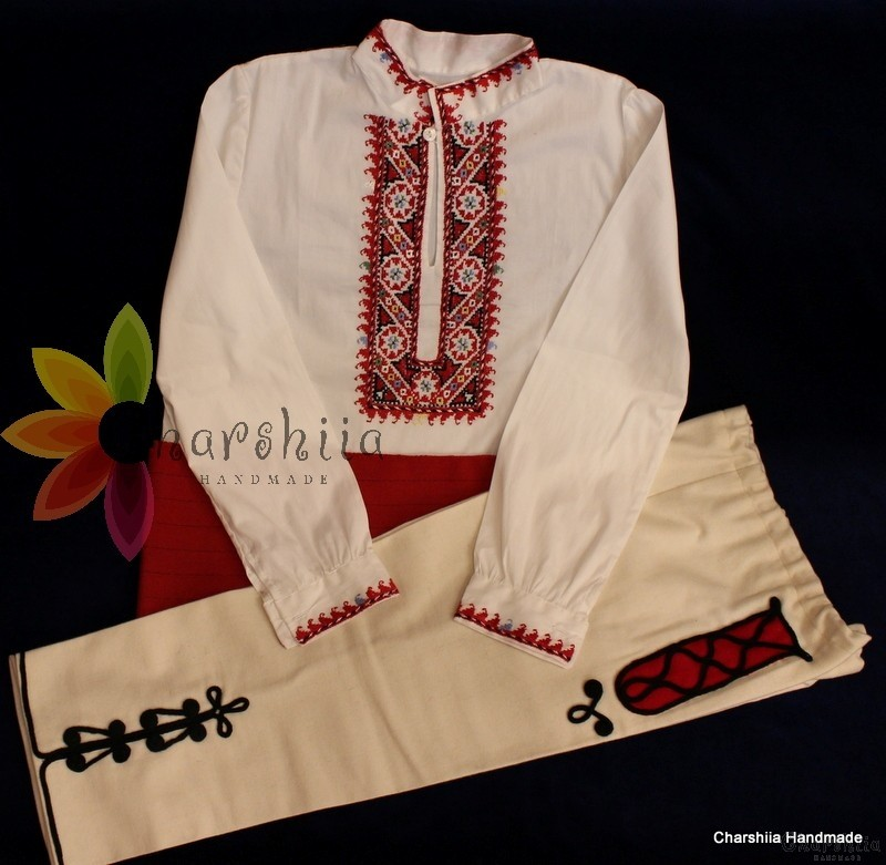 Bulgarian folk costume for boys