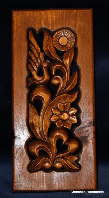 """Woodcarving """"Morning"""""""