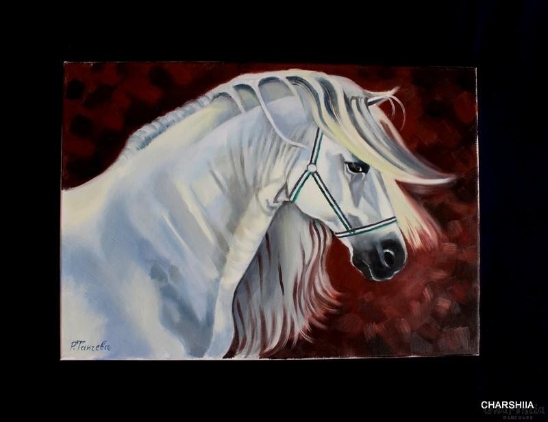 "Painting ""Snow dream"""